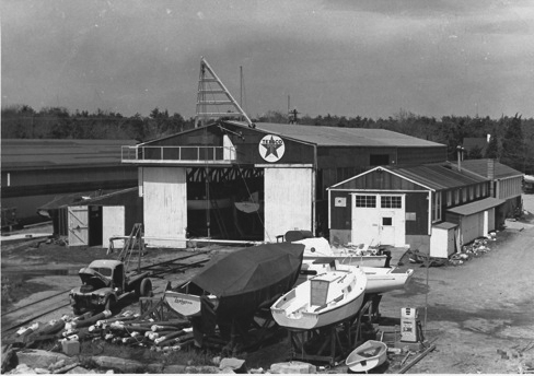 Mattapoisett Boatyard old days