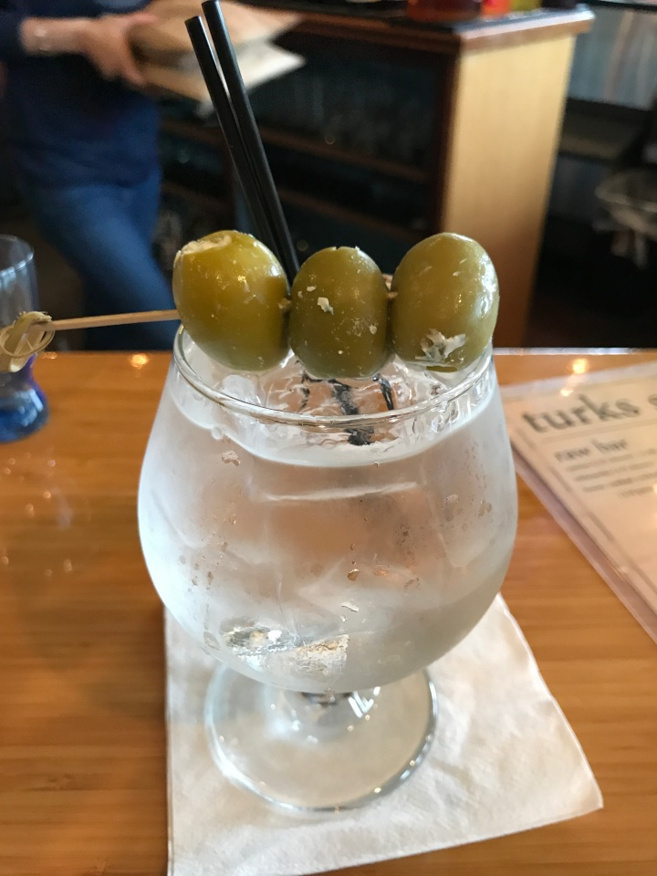 Turk's Grey Goose and Blue Cheese Olives