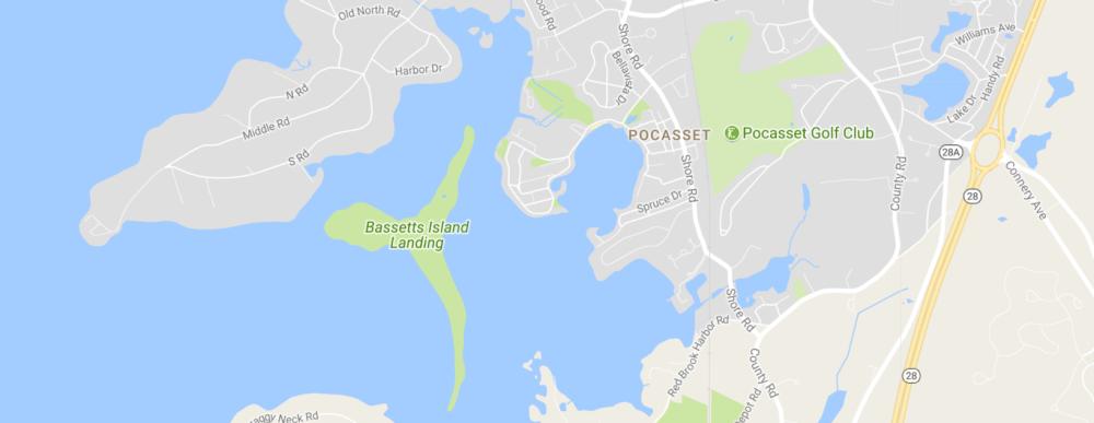 Bassetts Island Map