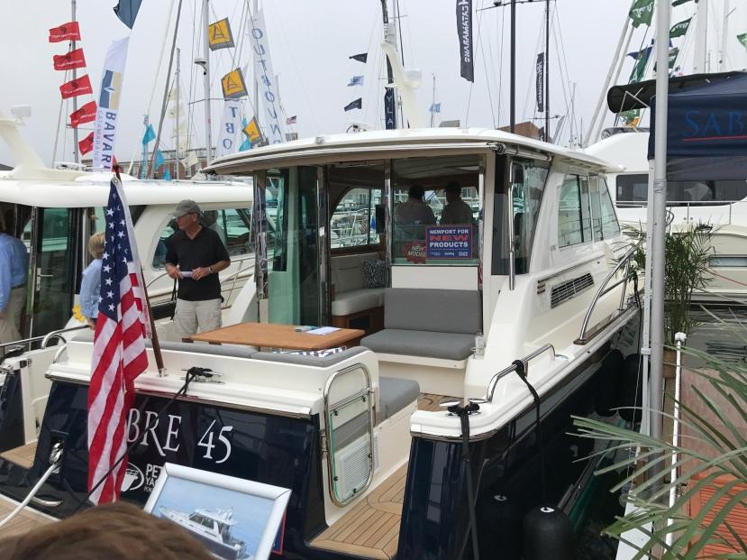 Sabre 45 Newport Boat Show