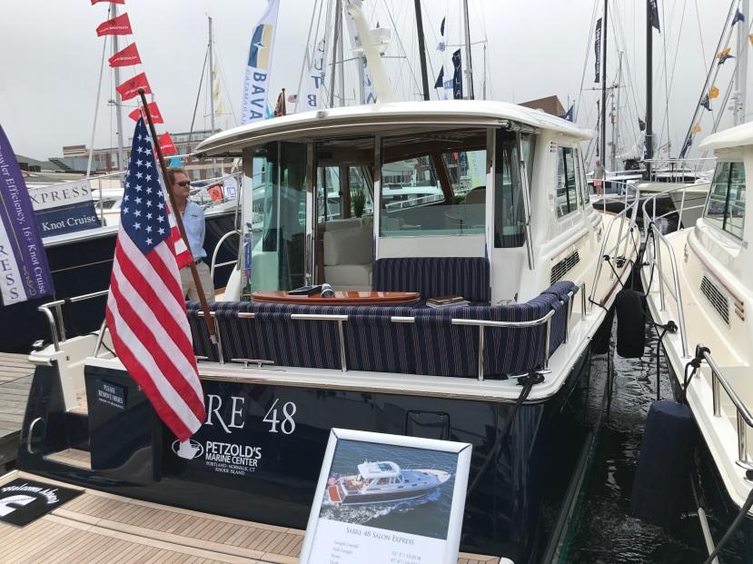 Sabre 48 - Newport Boat Show