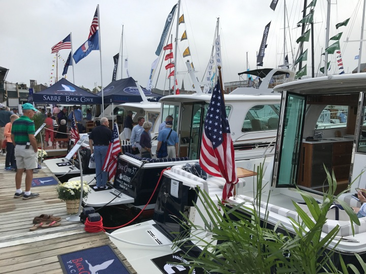 Sabre Back Cove - Newport Boat Show