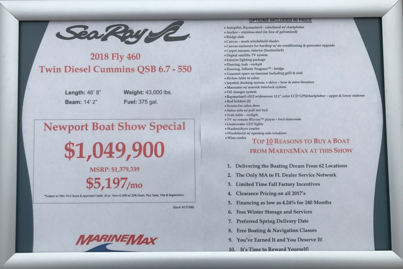 Sea Ray 460 Price