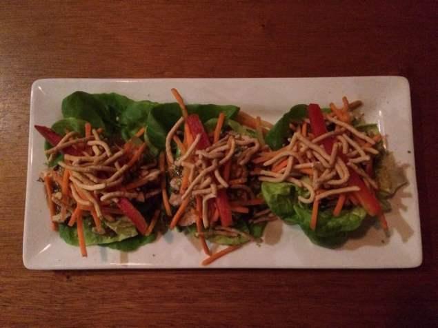 Brew Fish Lettuce Wraps