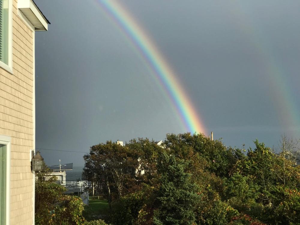 Last Weekend Rainbow