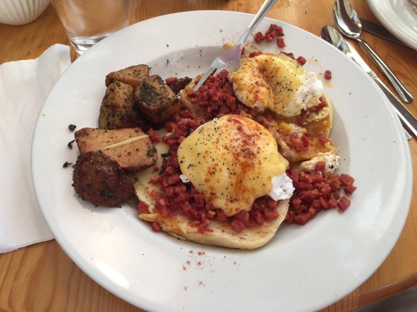 Corner Cafe Eggs Benedict
