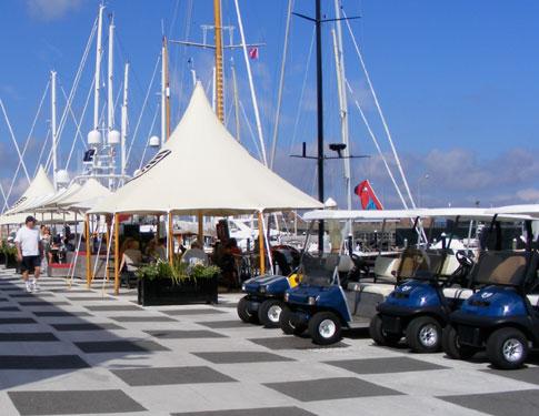 Newport Shipyard Breakfast Area