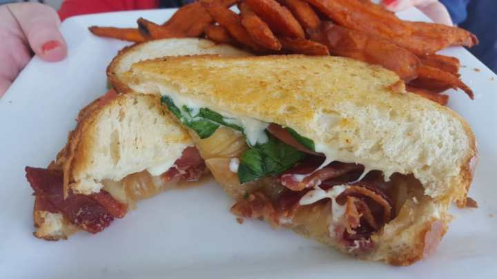 NH Grilled Cheese and Bacon