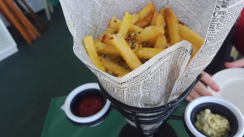 NH Parm Fries