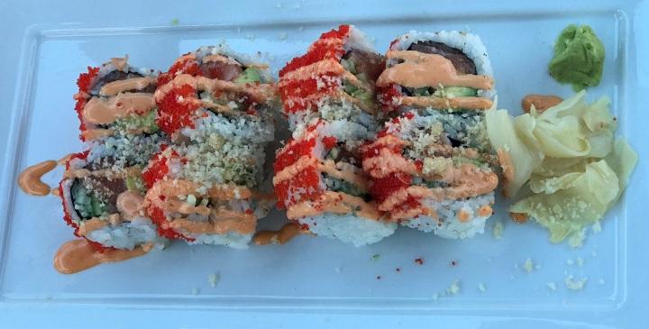 Seafood Shanty - Crunchy Salmon Roll