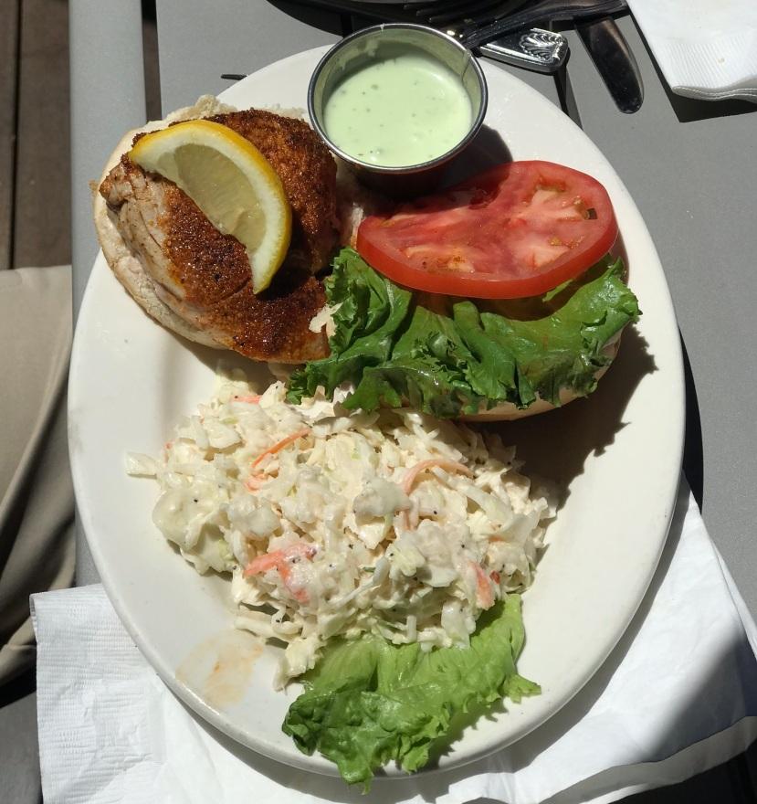 Seafood Shanty - Grill Tuna Sandwich