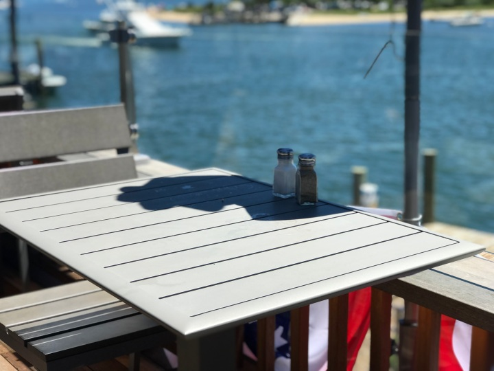 Seafood Shanty - New Side Table with View