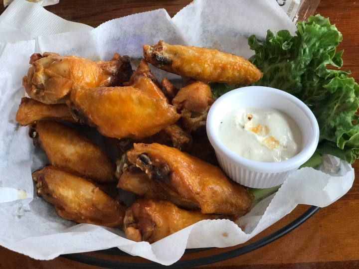 Seafood Shanty Wings
