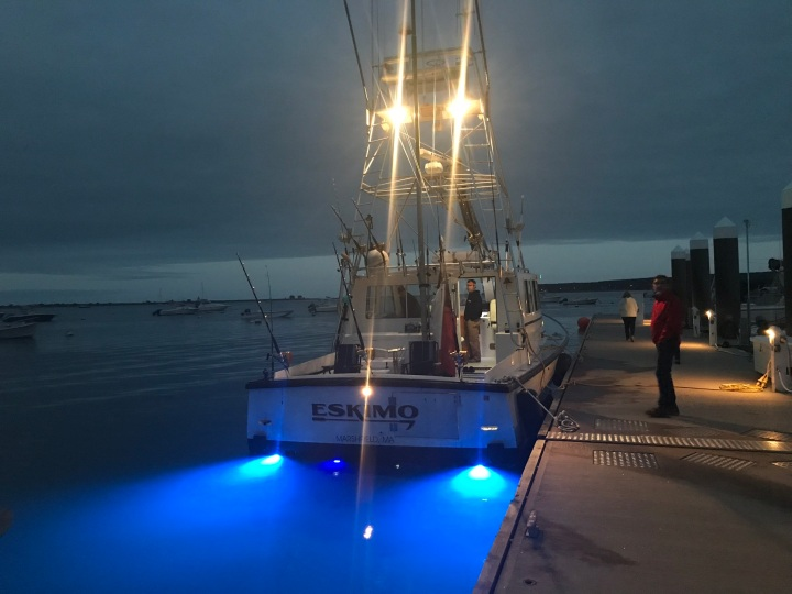 CD - Fishing Boat at Night